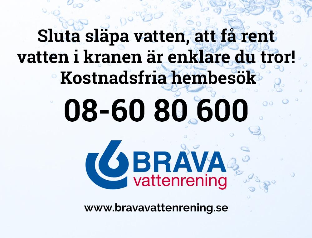 Brava Vattenrening - Väder i skärgården - Få rent vatten i kranen